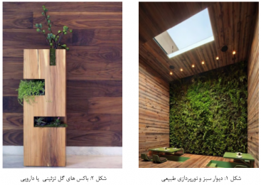 باکس گل و گیاه در خانه